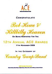 ACE Nomination 2009