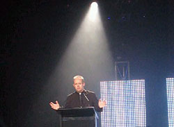 Bob presenting ACE Awards 2007