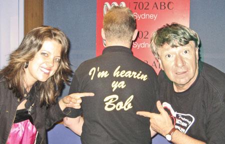 Amber Lawrence, Bob Howe, Jim Haynes 2007