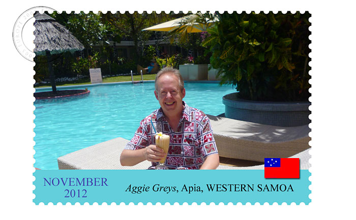 Postcard from APIA