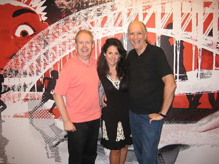 Bob Howe, Tania Kernaghan, John Nutting 2009 - photo by Dan Driscoll