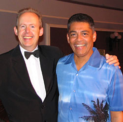 Bob Howe and Desmond de Silva, Brisbane 2006