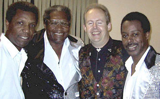 Bob Howe with The Drifters