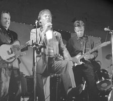 Bob Howe with Leon Isackson and Tommy Emmanuel