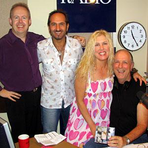Bob Howe, Michael Cristian, Donna Fisk, John Nutting