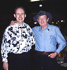 Bob Howe with Slim Dusty
