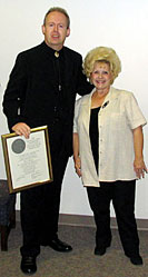 Bob and Miss Brenda Lee 2004 - Charlie Lamb Award