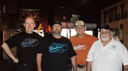 Bob Howe, Chuck Vandenbelt Allan Tomkins and Warren Neilsen