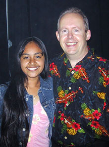 Bob Howe and Jessica Mauboy