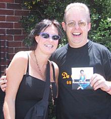 Bob Howe with Kasey Chambers