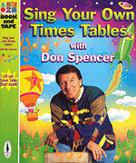 Don Spencer - Sing Your Own Times Tables 1999 Book and Tape