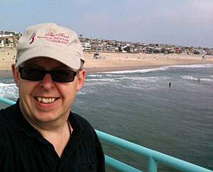 Bob on Manhattan Beach Pier
