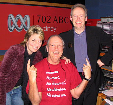 Melinda Schneider, John Nutting, Bob Howe 2007