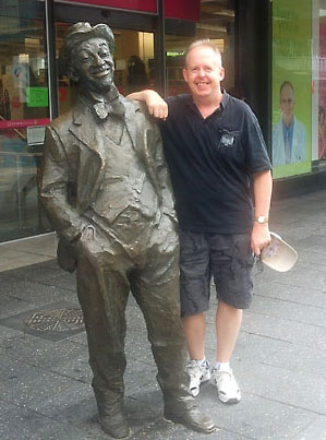 MO and Bob in Adelaide