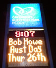 Aust Day billing in lights