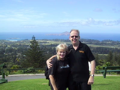 Little Pattie and Bob Howe, Norfolk Island 2007