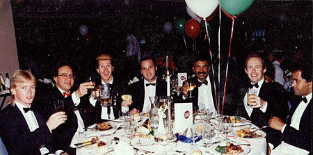 Raddy Ferreira and band, 1990s