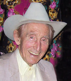 Smoky Dawson in 2003, photo by Bob Howe
