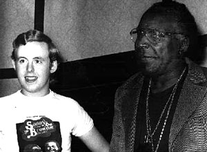 Bob with Sonny Terry