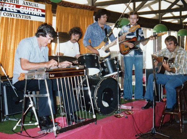 Kenny Kitching at the 1980 Tamworth Steel Guitar Convention