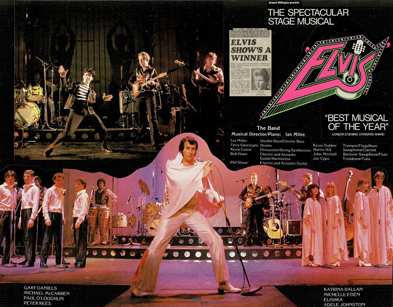 Elvis - The Musical, Australia 1981