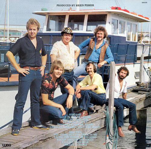 Bob, Rex, Ray, Danny, Johnny, Marshall - on LP back cover