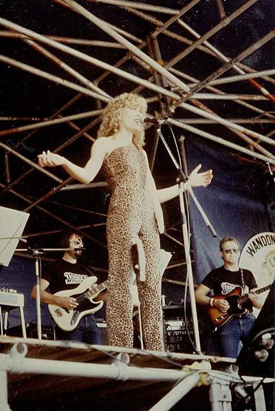 Donna Fisk at Wandong 1982