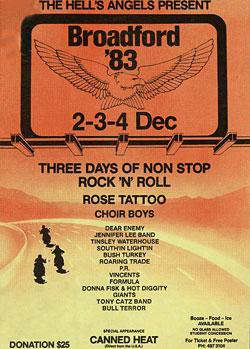 Broadford '83 poster