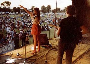 Donna and Bob at Esperance - 1st January 1984