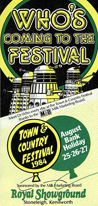 Town and Country Festival brochure