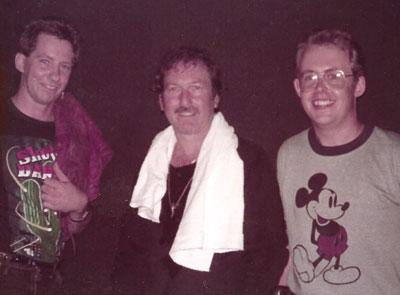Bob Howe and James Burton, Boston 1984
