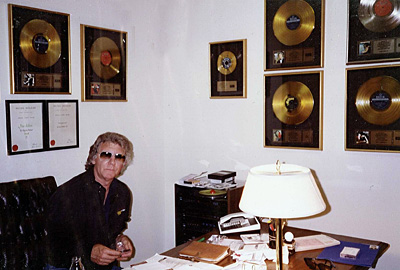 Peter Russell in his Nashville office 1984