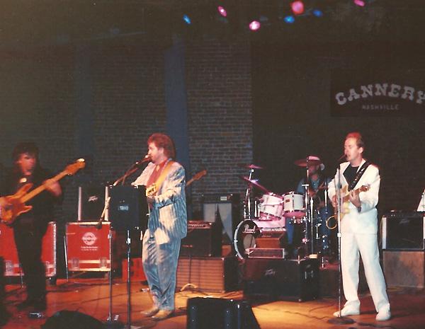 At The Cannery, Nashville 1989 - Nigel, Jerry, Cozy, Bob