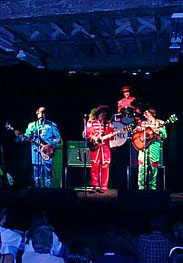 Sgt Peppers on stage