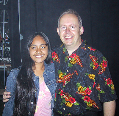 Jessica Mauboy and Bob Howe, Tamworth 2004