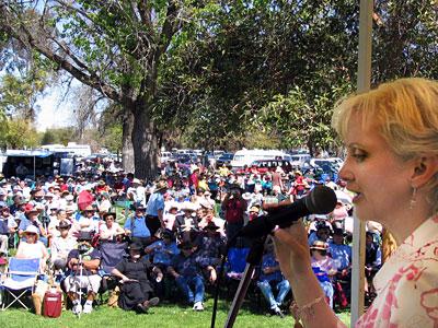 Donna Boyd at Mildura 2005