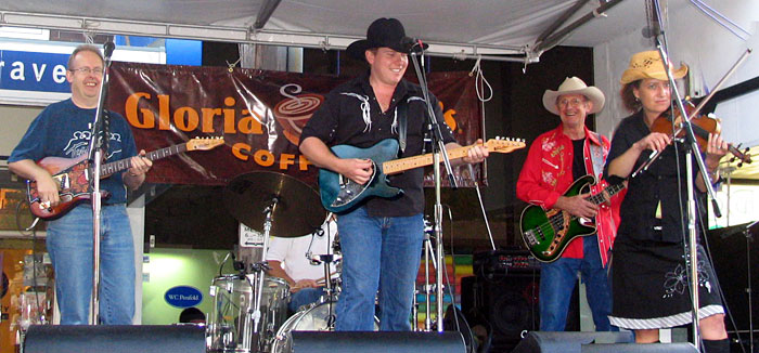 Travis List Band 2005