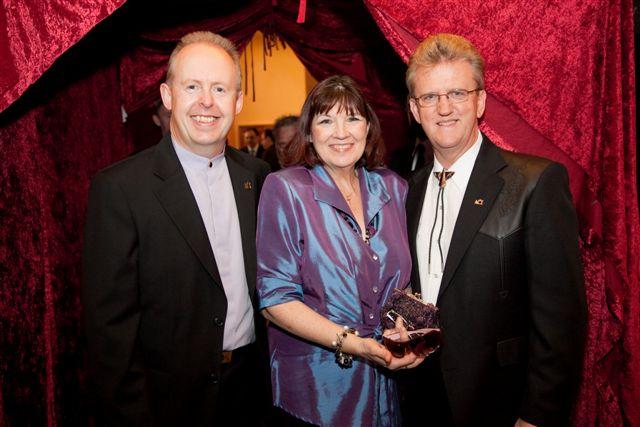 Bob, Karen, Wayne at The ACEs 2009