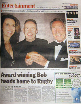 Rugby news article