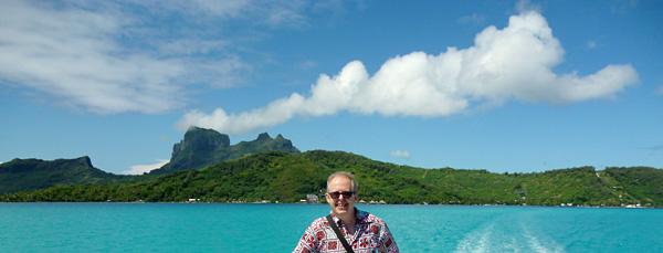 ferry to the airport at Bora Bora 2014