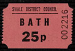 Bath Ticket - 25p