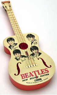 toy Beatles guitar