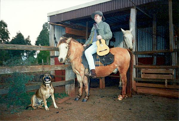 Bob on horseback