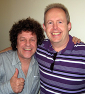 Leo Sayer and Bob Howe in 2009
