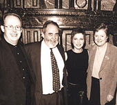 Bob Howe, Jim White, Martina McBride, Meryl Gross 1999