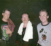 Peter Larson, James Burton and Bob Howe 1984