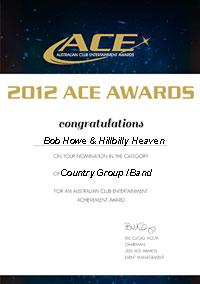 ACE2012 certificate