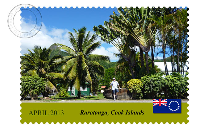 Postacard from Rarotonga
