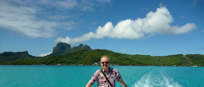 Bob at Bora Bora