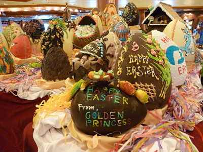 Easter on the Golden Princess